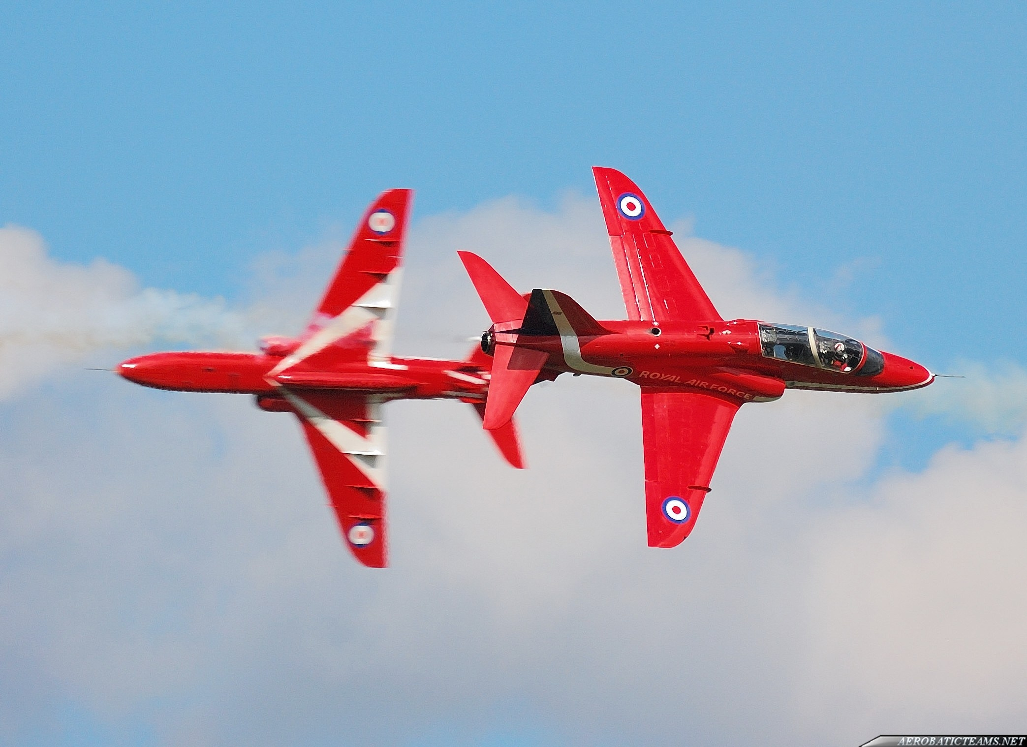 Red Arrows incidents during Air Show at Portrush
