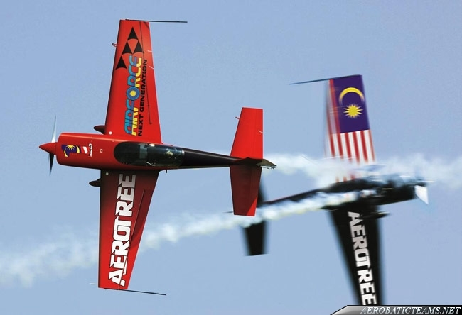 New Malaysian Air Force Aerobatic Team