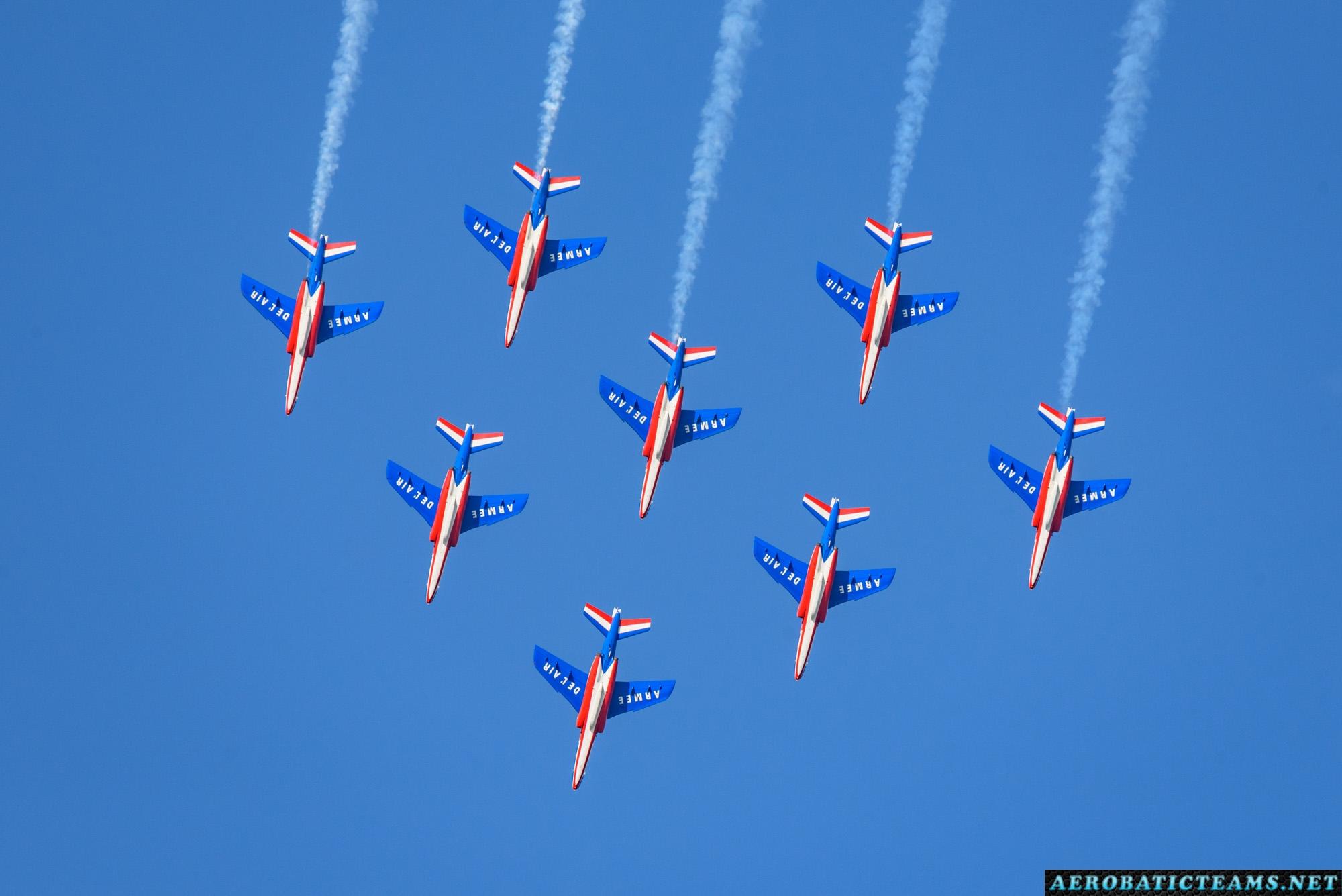 Patrouille de France 2018 Airshow Dates