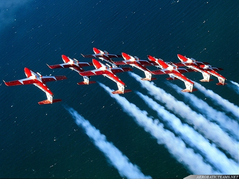 Snowbirds announced new demonstration pilots