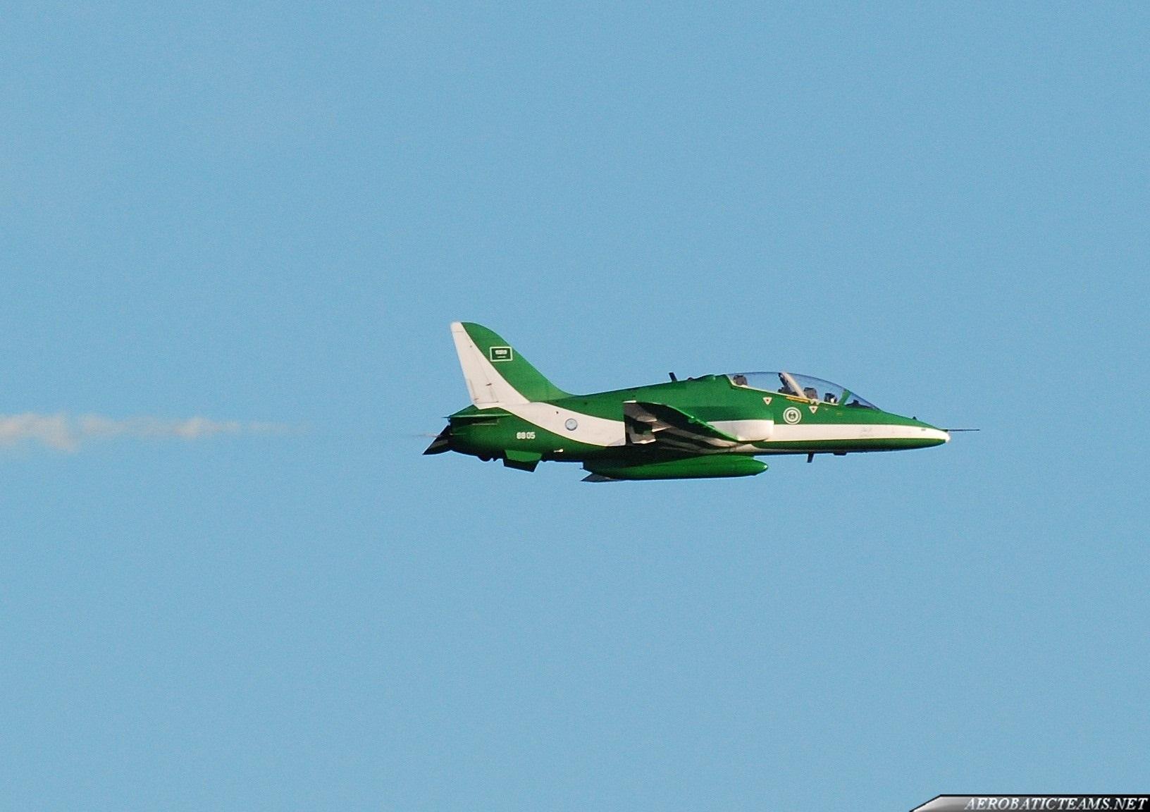 Saudi Hawks plane crash