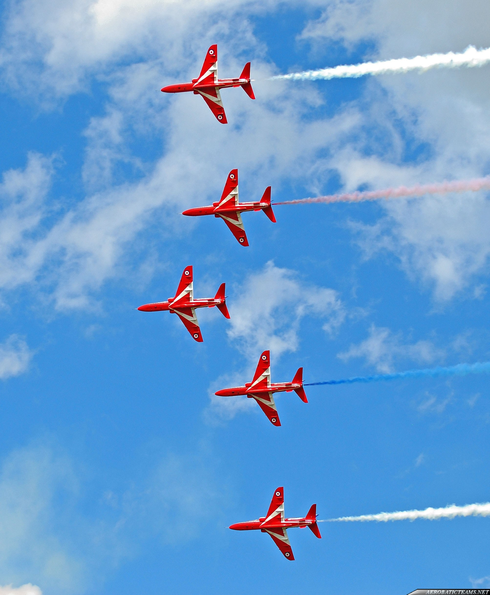 Red Arrows announced three new pilots for 2013