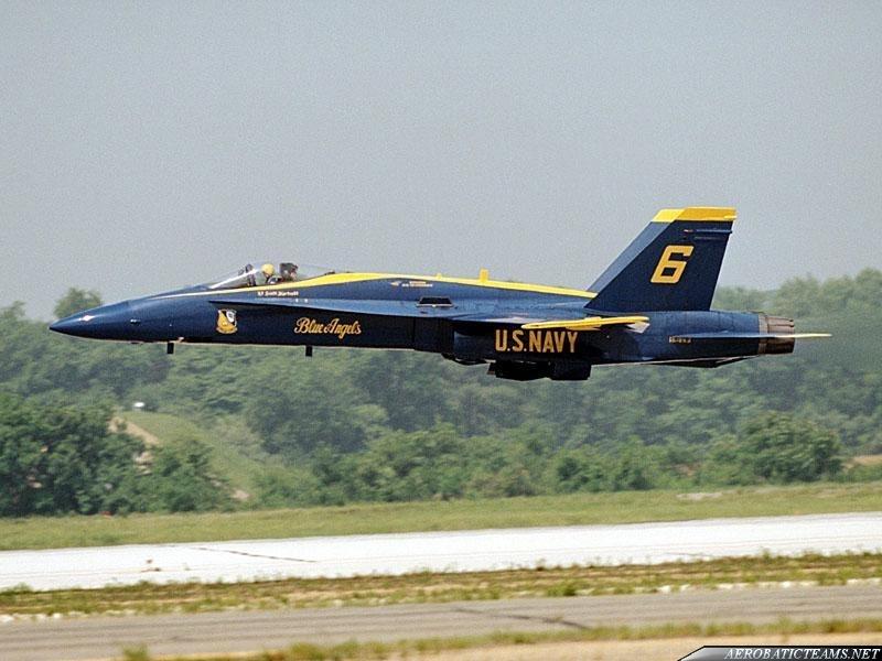 Blue Angels unplanned landing