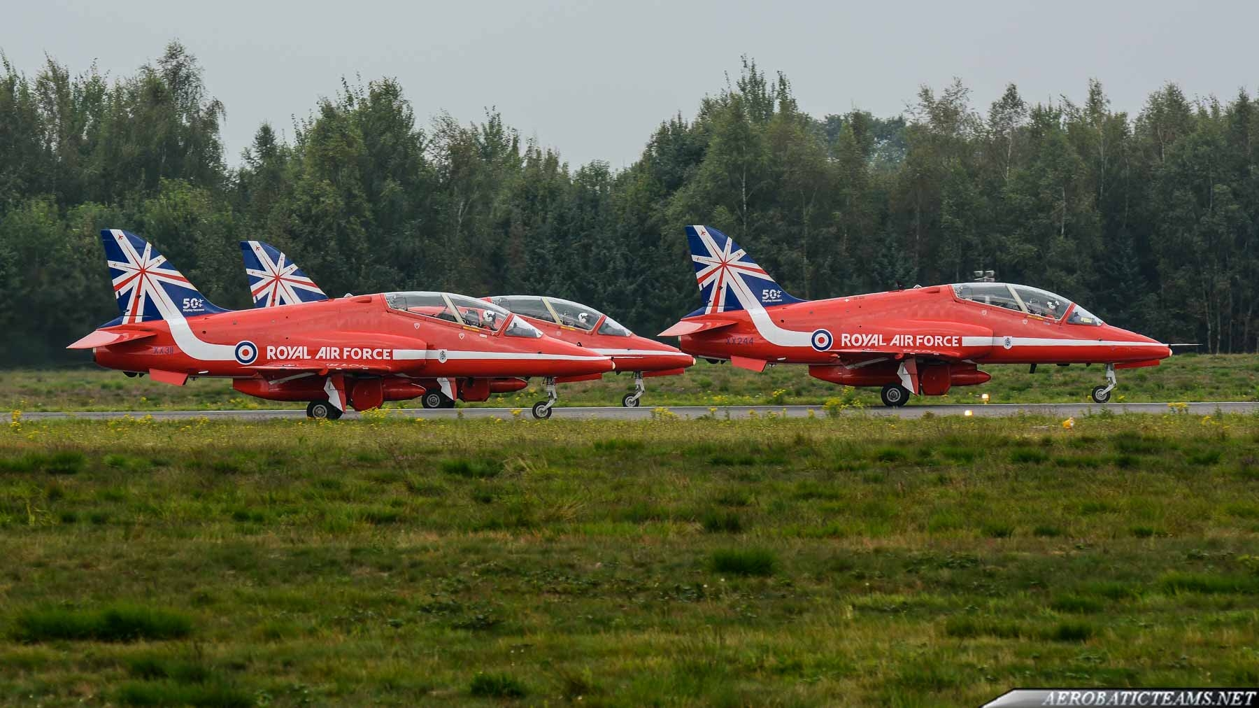 Red Arrows selected Leader and three new pilots