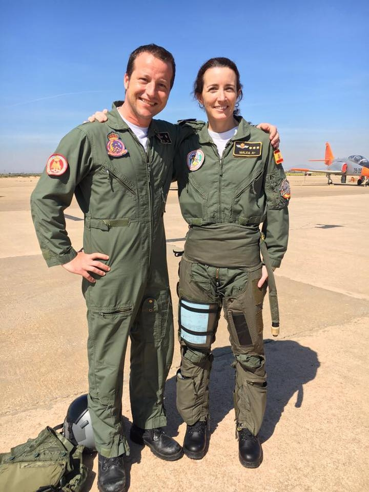 Patrulla Aguila first female pilot