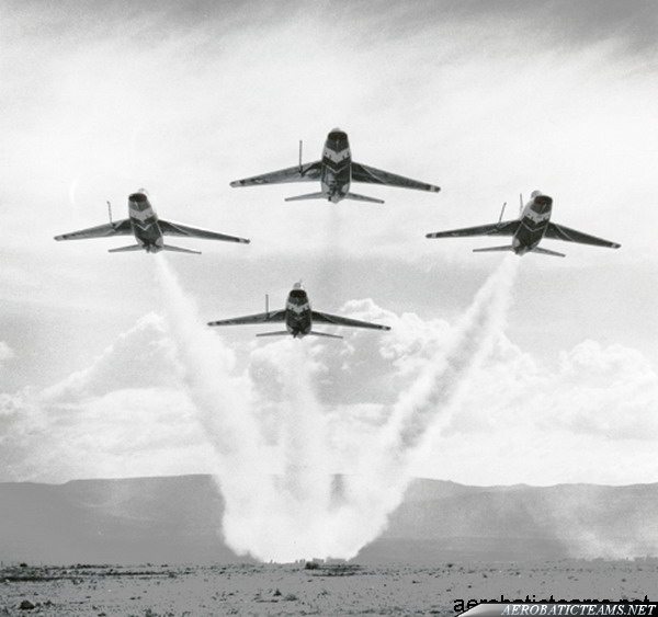 Thunderbirds F-100D Super Sabre