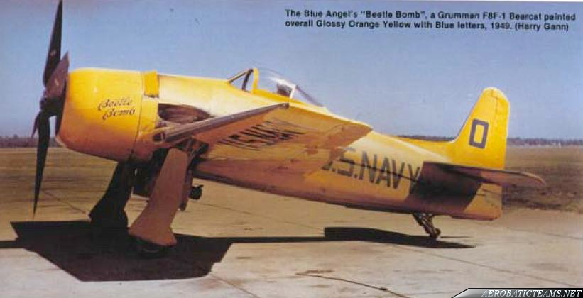 Blue Angels F8F Bearcat Beetle Bomb