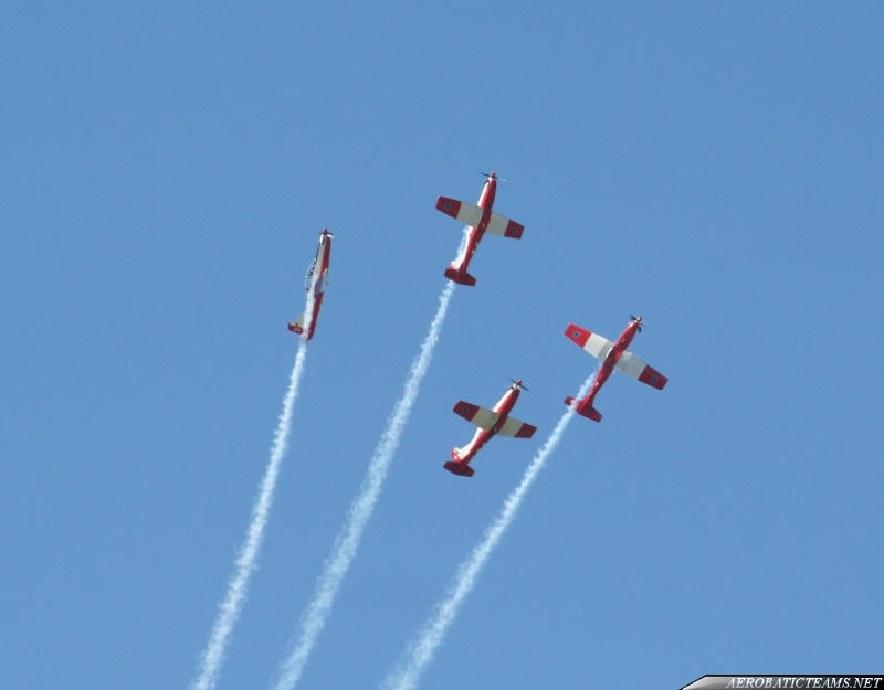 Selver Falcons PC-7 first paint scheme from 1999 to 2008