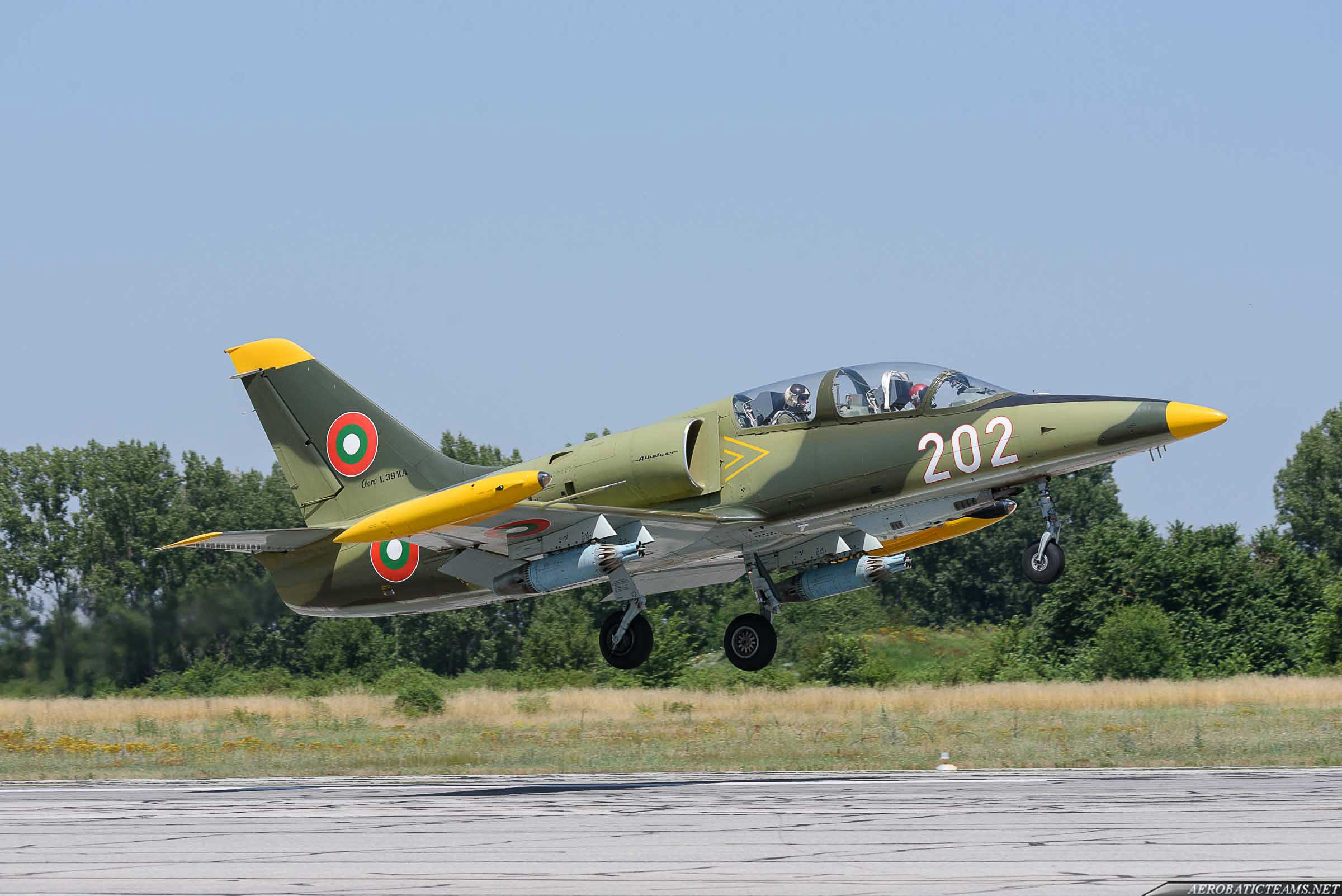 Bulgarian Air Force L-39ZA