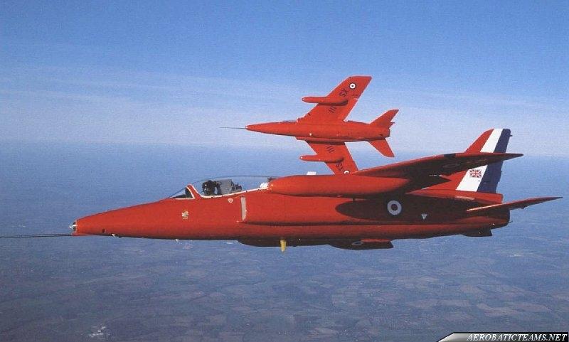 Red Arrows Gnat
