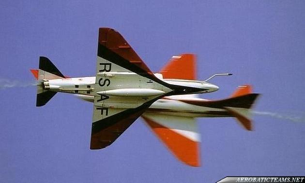 Black Knights A-4SU Super Skyhawk