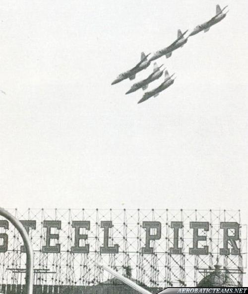 Blue Angels F11F Tiger, Paris Air Show 1965
