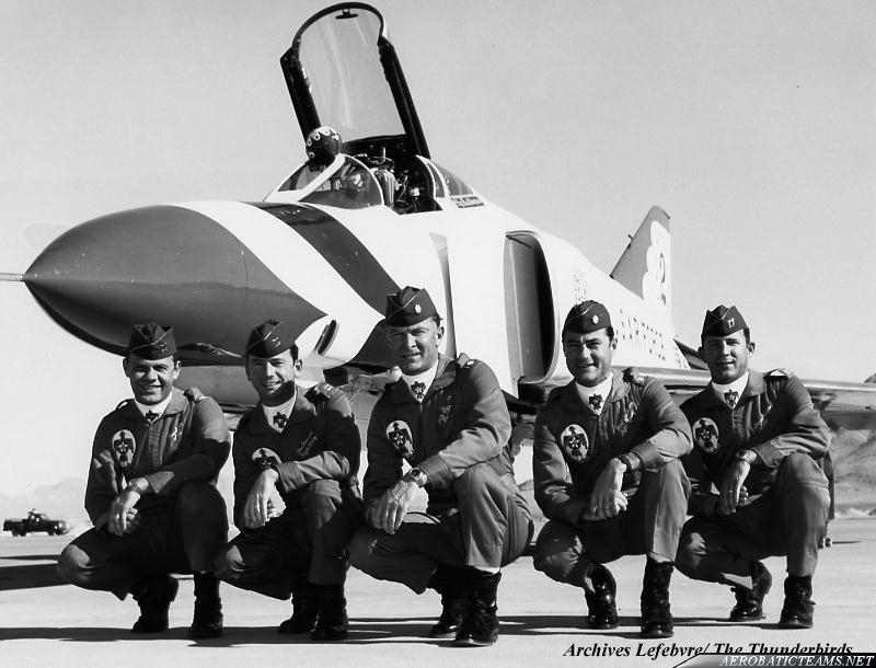 Thunderbirds F-4E Phantom pilots