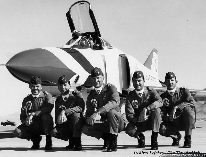 Thunderbirds F-4E Phantom pilots