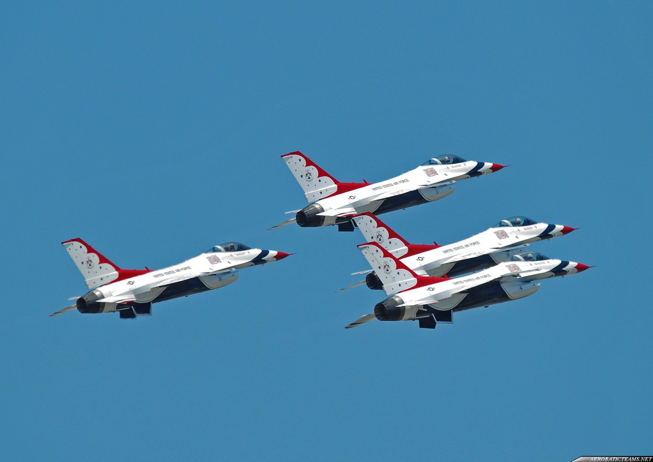 Thunderbirds take off, June 24