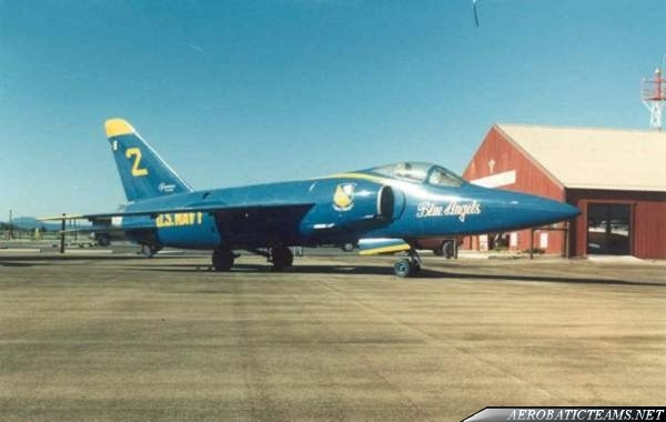 Blue Angels F11F Tiger long nose