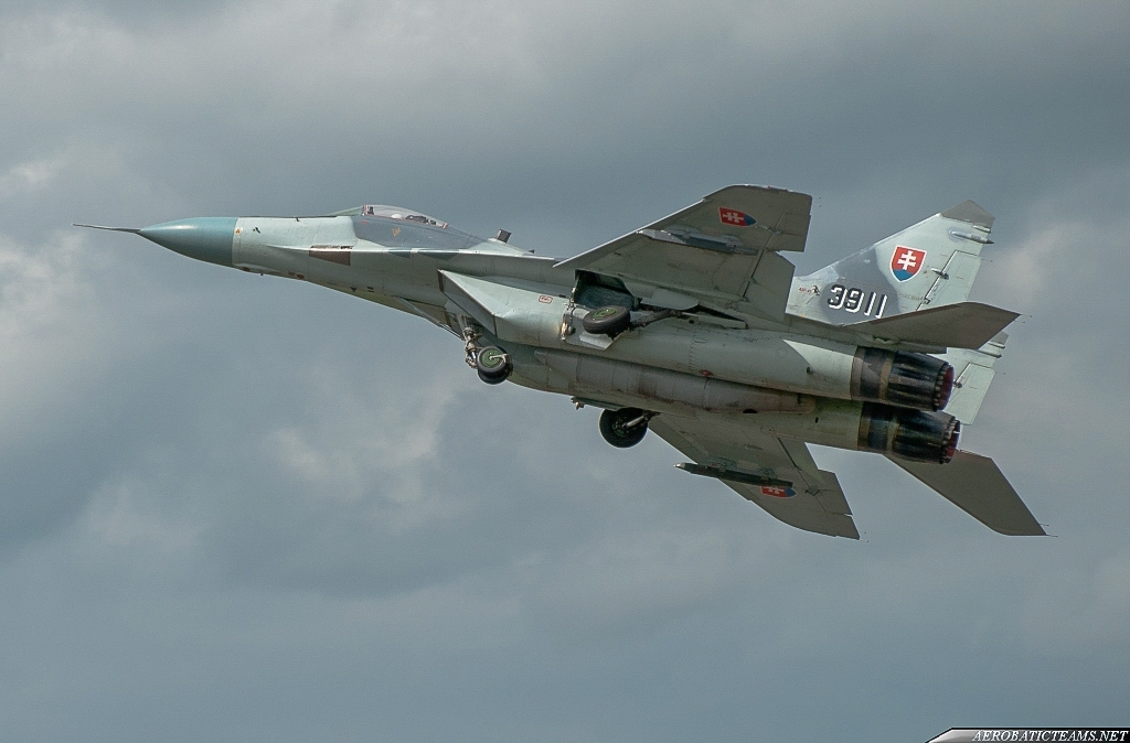Slovakian Air Force MiG-29