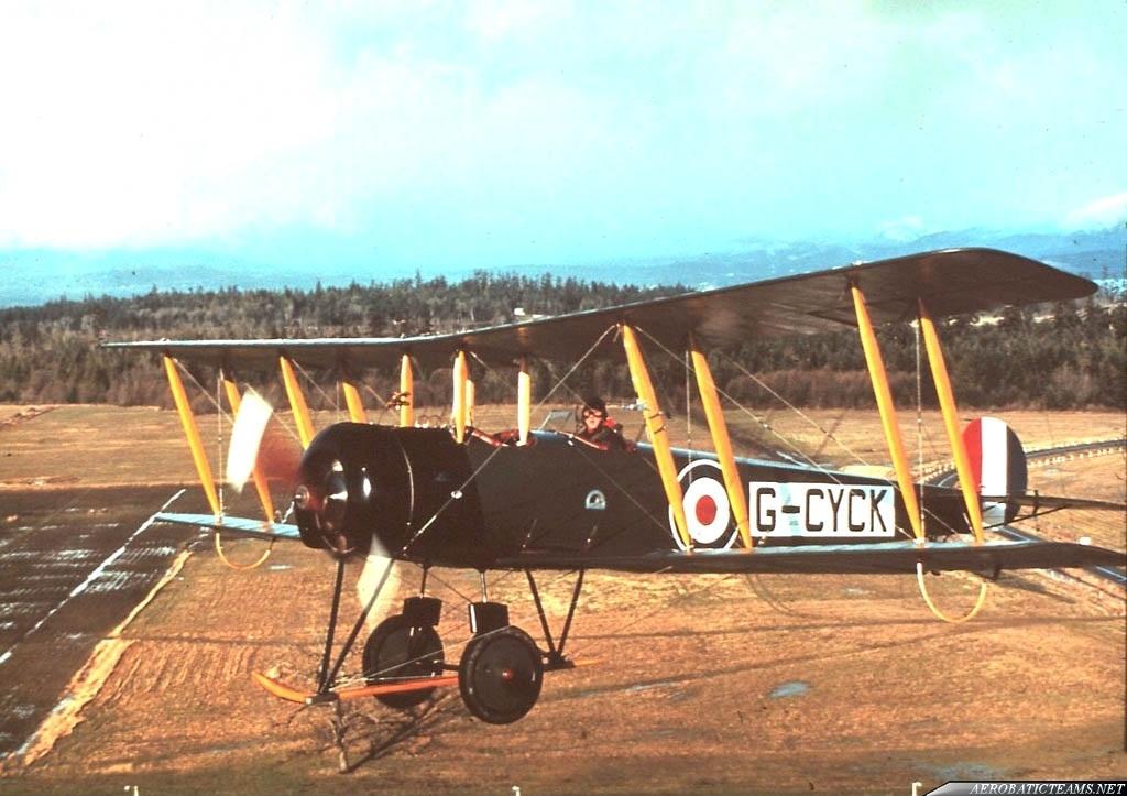 Golden Centennaires AVRO 504K. Photo by William Ewing