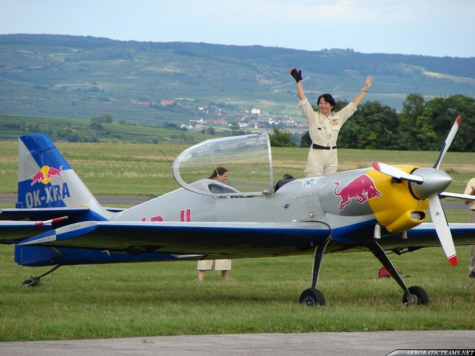 Flying Bulls Aerobatics Team first female leader Radka Machova
