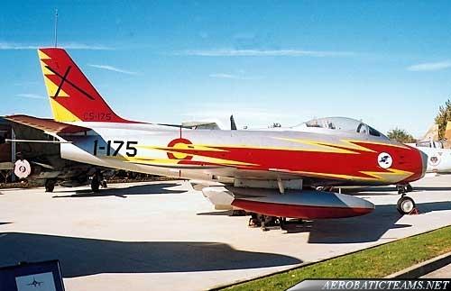 Patrulla Ascua F-86 Sabre