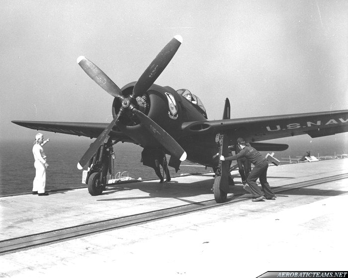 Blue Angels F8F Bearcat