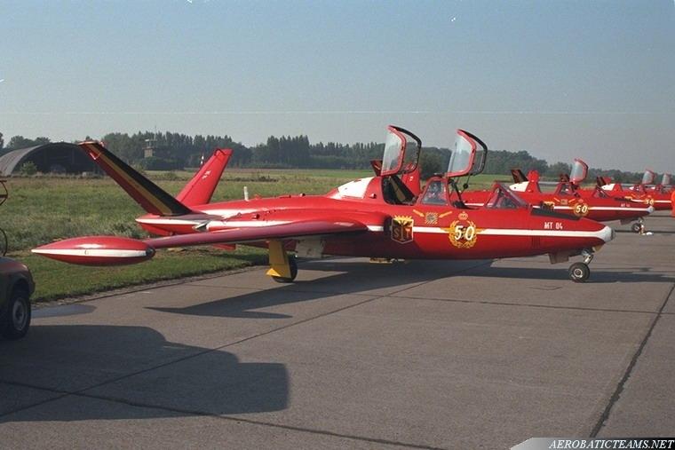 Red Devils Fouga Magister