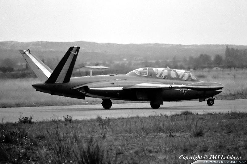 Patrouille De France Fouga Magister second paint scheme