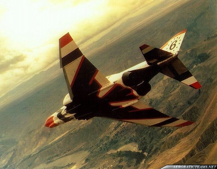 Thunderbirds F-4E Phantom