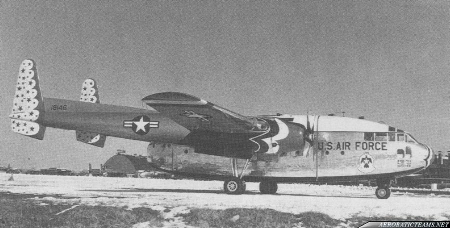 Thunderbirds C-119 Flying Boxcar