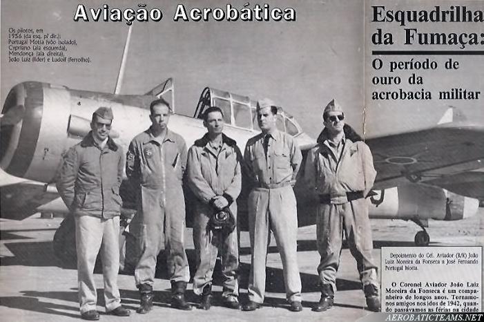 Esquadrilha da Fumaca T-6 Texan pilots