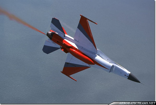 Black Knights F-16A Fighting Falco