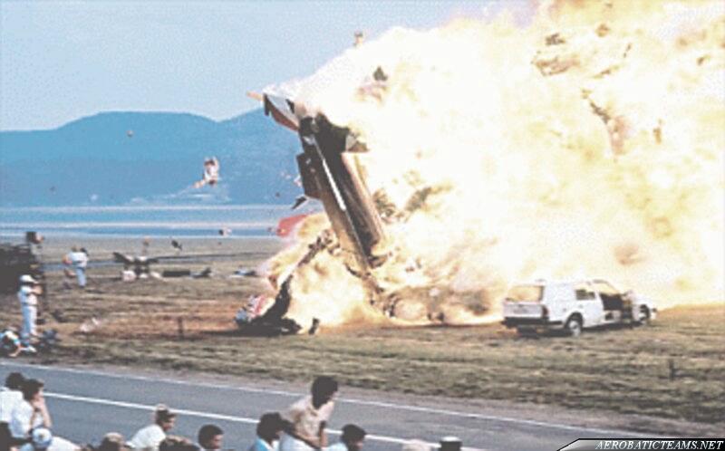 Solo plane crashed onto public