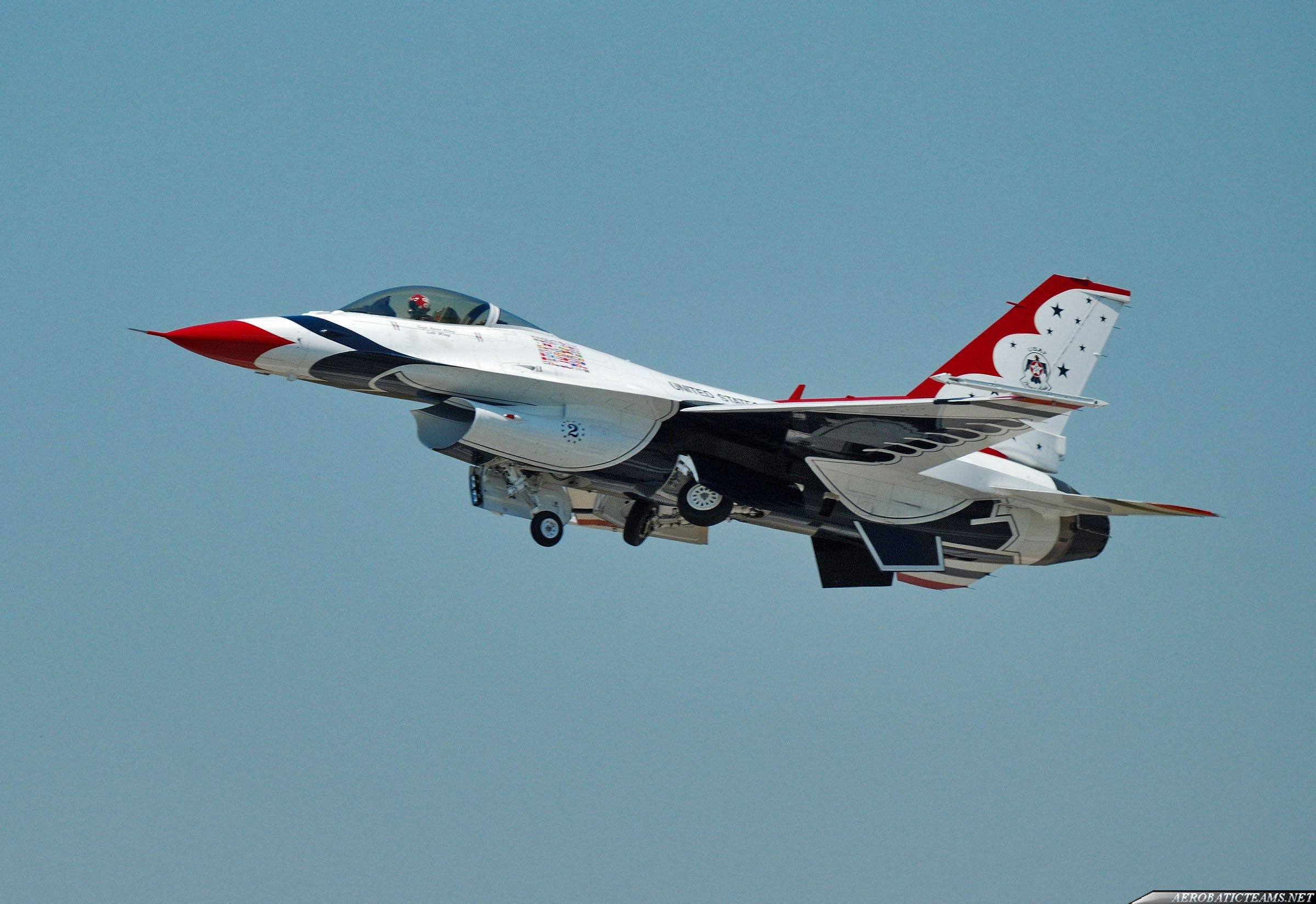 Thunderbirds F-16