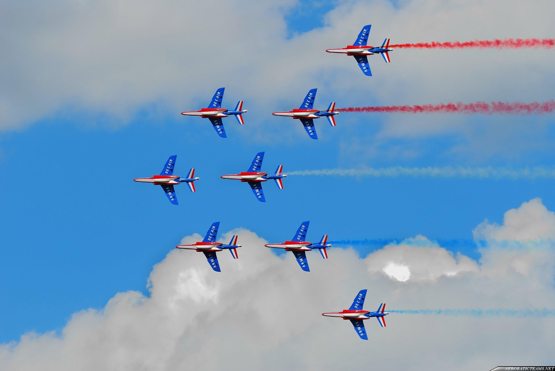 Patrouille de France Alpha Jet