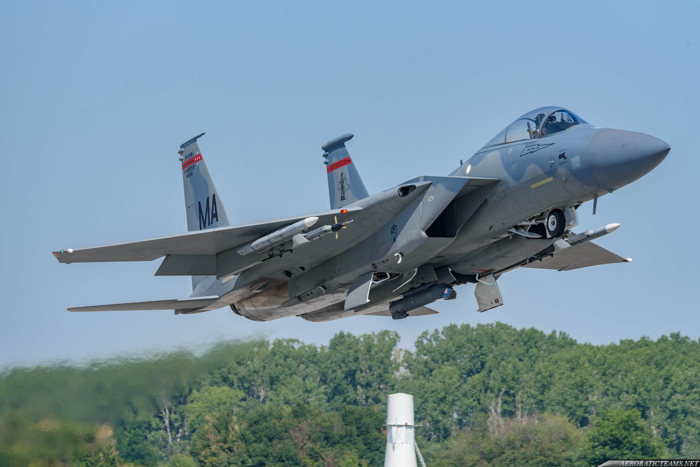 US Air Force F-15C