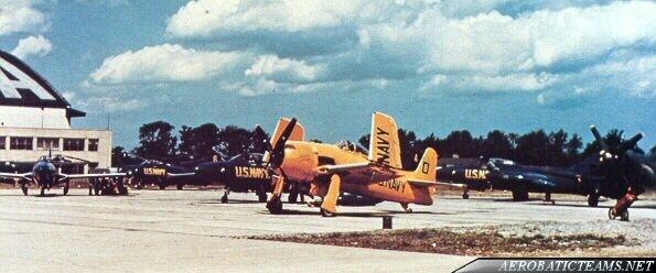 Blue Angels F8F Bearcat Beetle Bomb