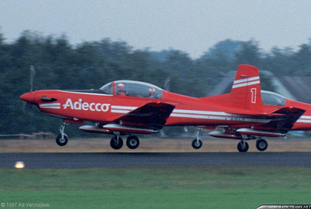 Patrouille Adecco PC-7
