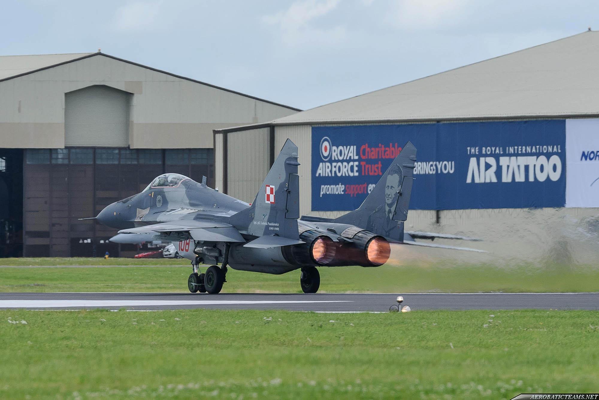 Polish Air Force MiG-29
