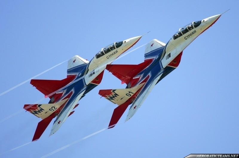 Swifts MiG-29UBs