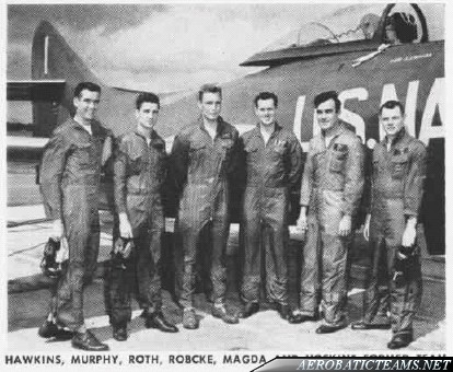 Blue Angels F9F Panther pilots