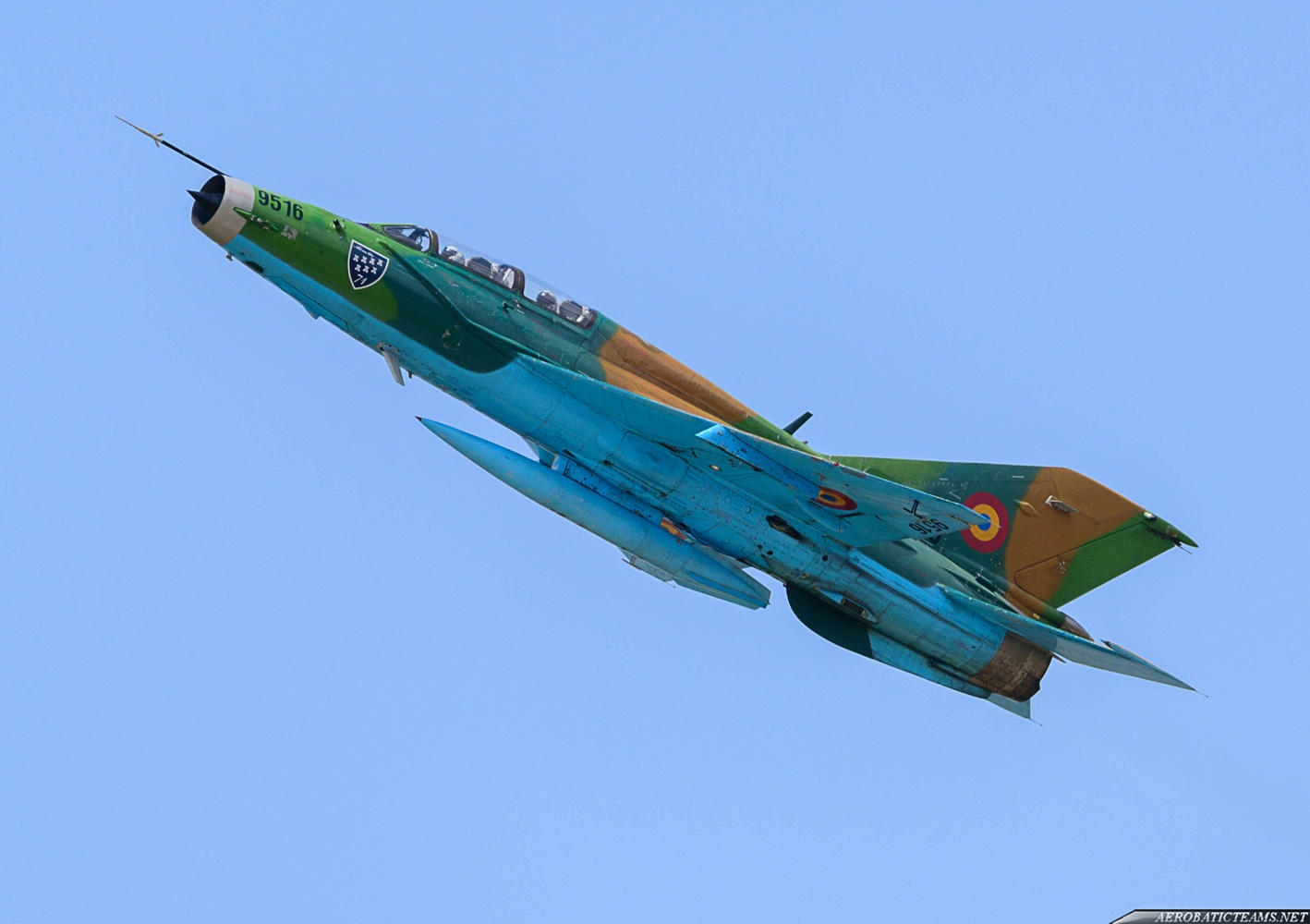 Romanian Air Force MiG-21