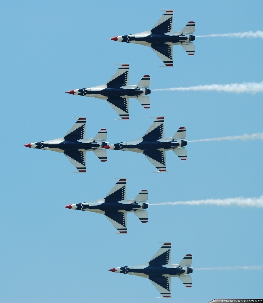 Thunderbirds practice flight, June 24
