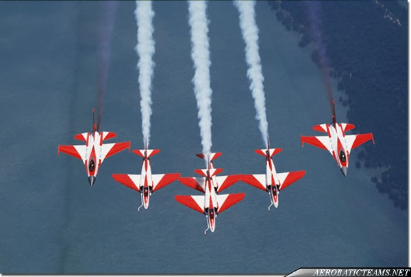 Four A-4SU Super Skyhawk and two F-16A from 2000 to 2007