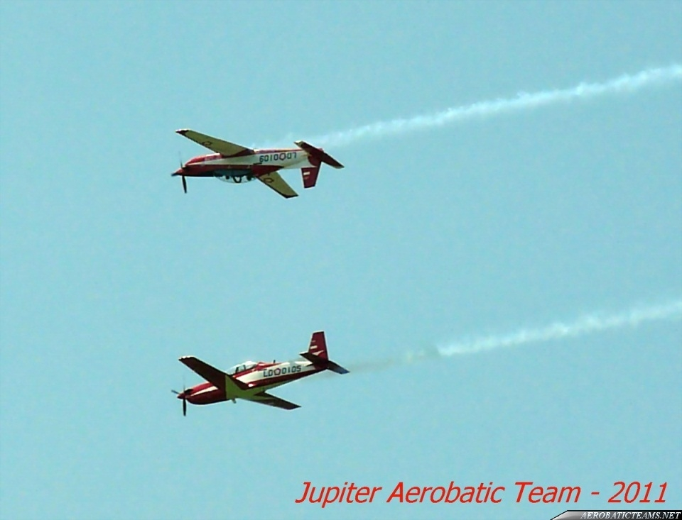Jupiter Aerobatic Team KT-1B Woong Bee, paint scheme from 2011