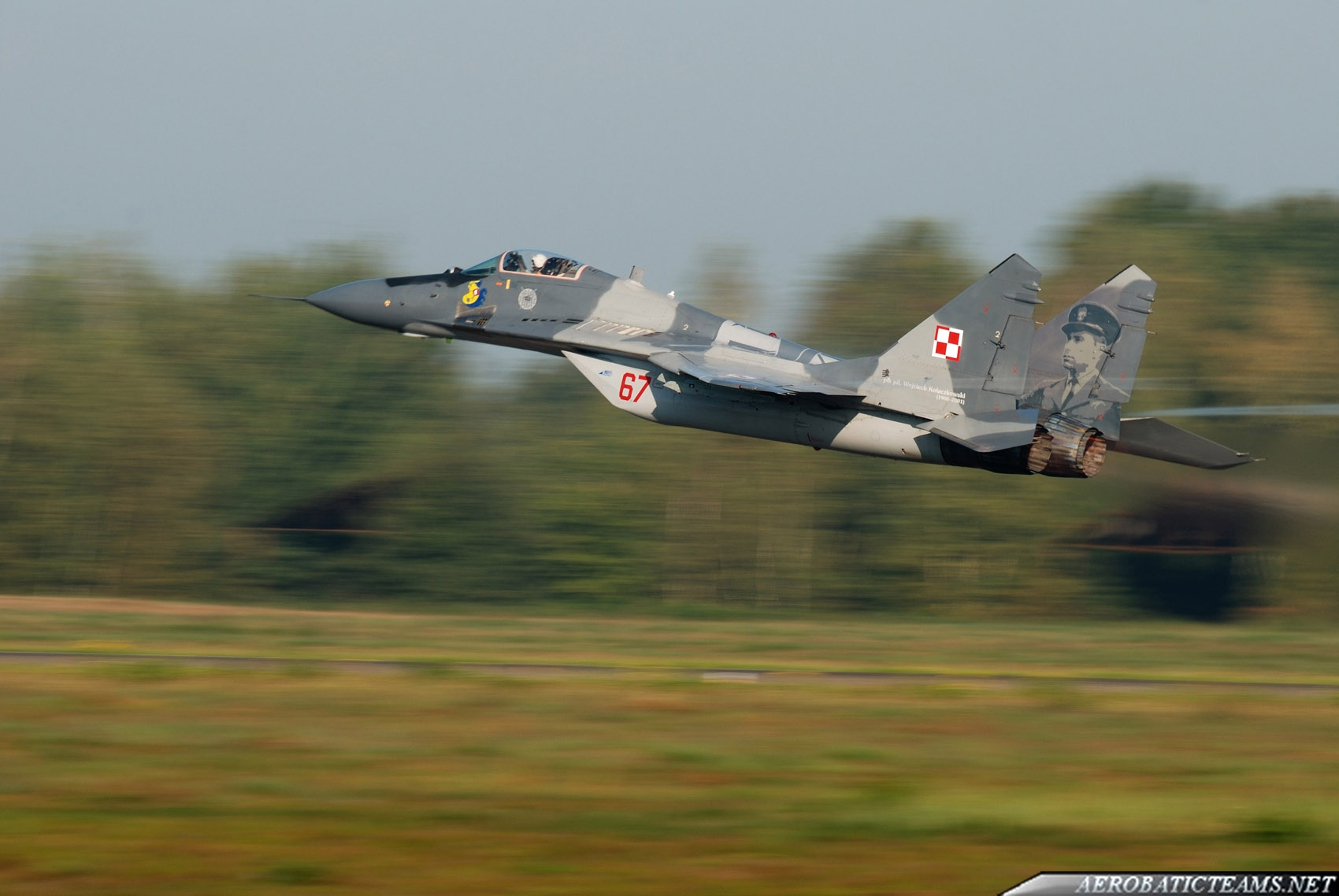 Polish Air Force Fulcrum Display Team