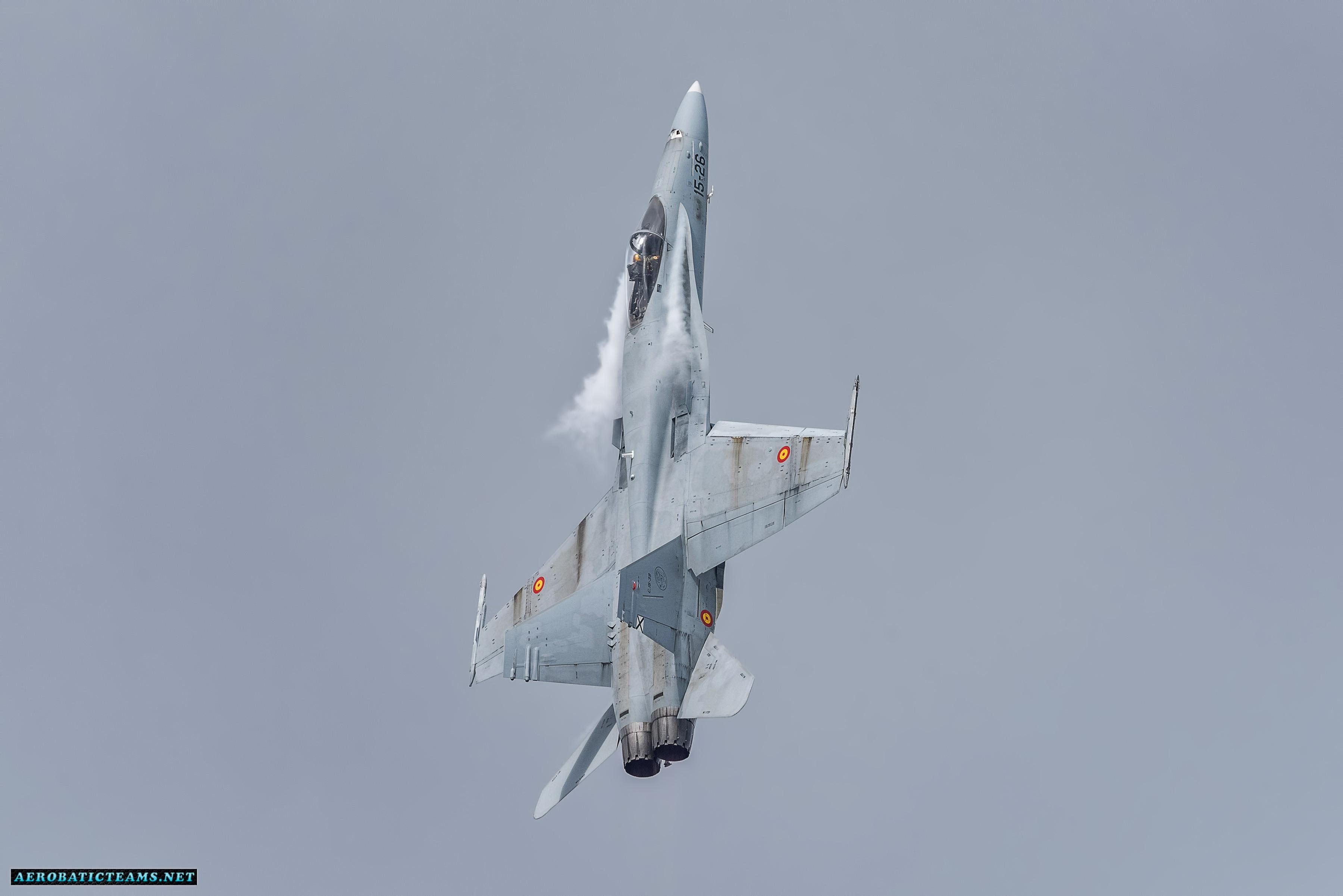Spanish Air Force F-18 Hornet