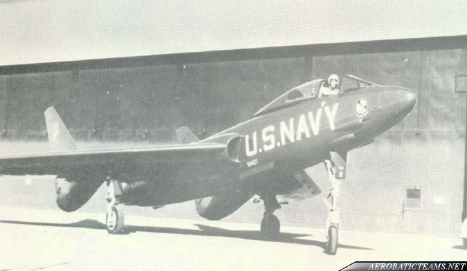 Blue Angels F7U Cutlass