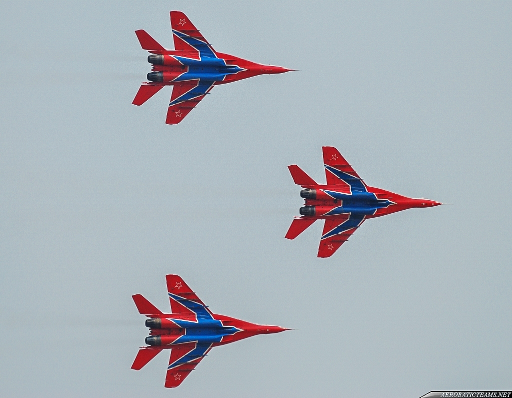 Russian Air Force Swifts