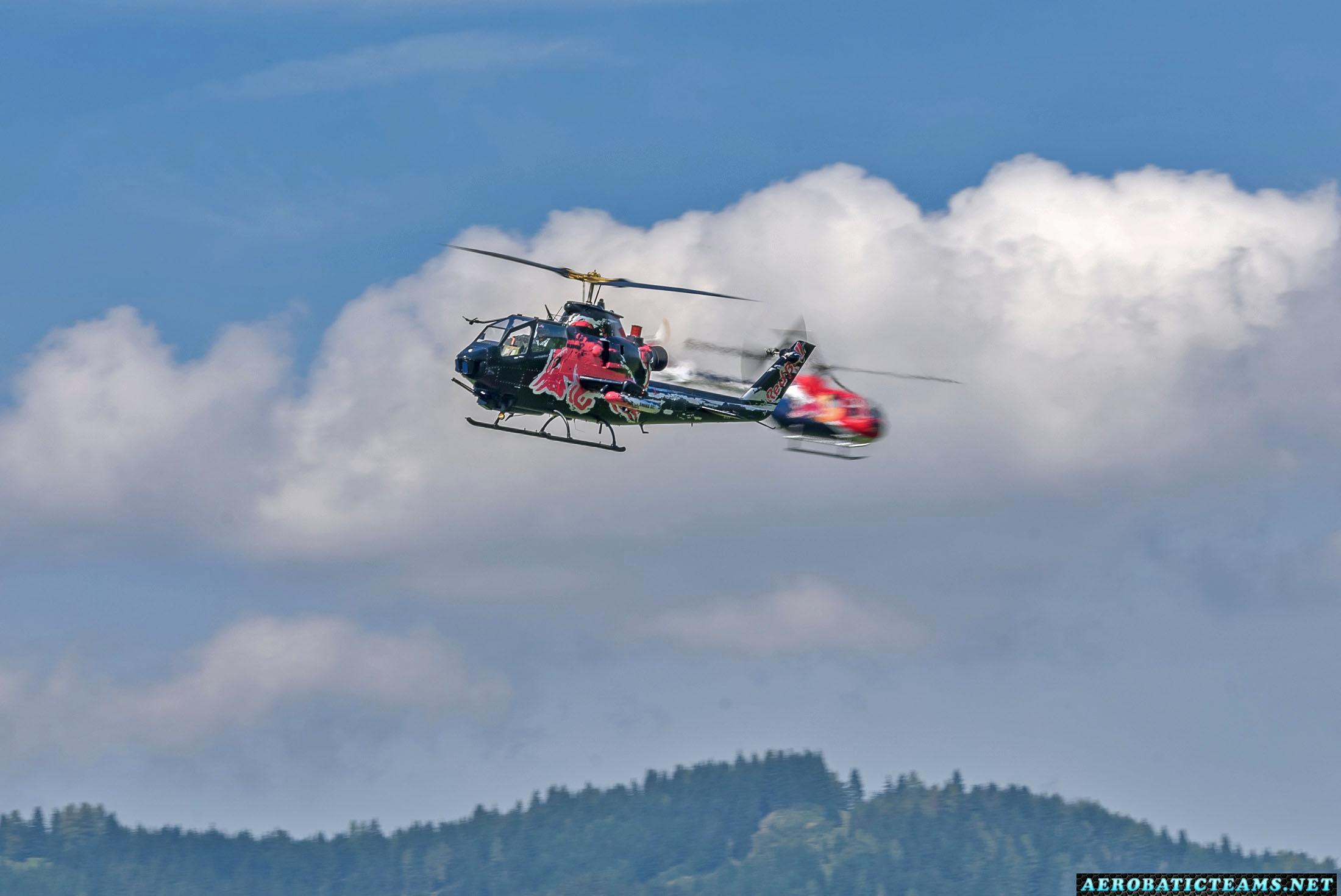 Red Bull Bo 105 and Bell AH-1 Cobra