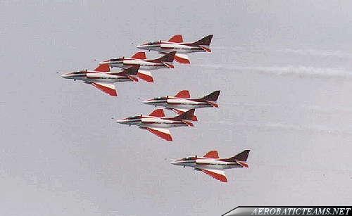 Six A-4SU Super Skyhawk from 1990 to 2000